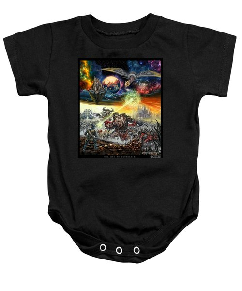 War Has No Boundaries  Baby Onesie