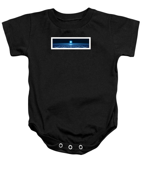 Waves Baby Onesie