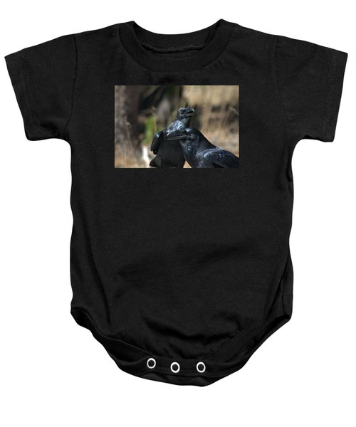 We Are The Best Of Friends Baby Onesie