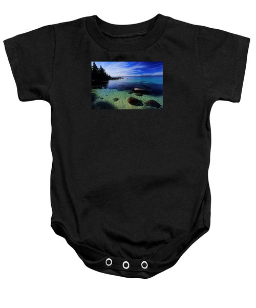 Welcome To Bliss Beach Baby Onesie
