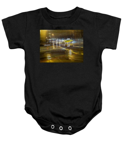 Baby Onesie featuring the photograph Wet Pavement by Alex Lapidus
