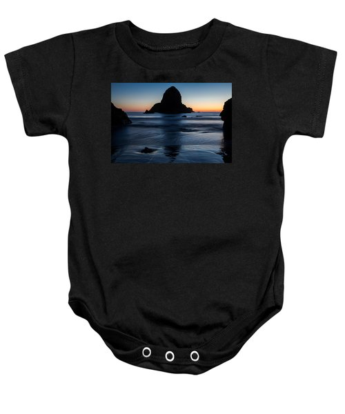 Whaleshead Beach Sunset Baby Onesie