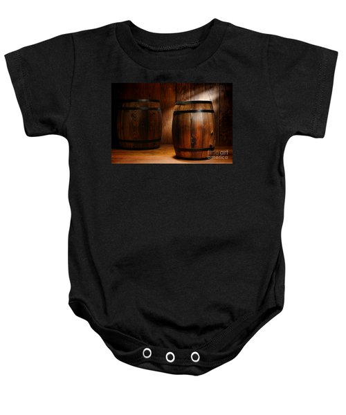 Whisky Barrel Baby Onesie