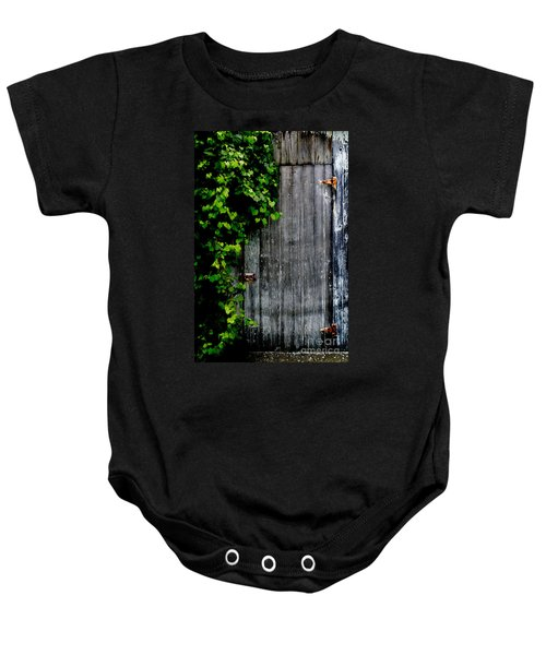 Wild Grape Vine Door Baby Onesie