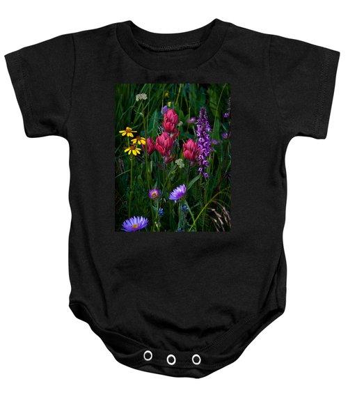 Wildflowers A Bloomin Baby Onesie
