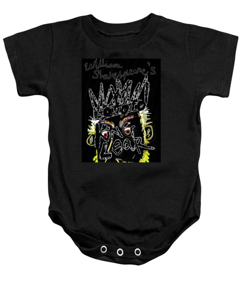 William Shakespeare's King Lear Poster Baby Onesie