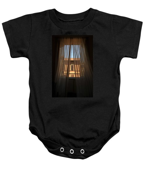 Window On Rome Baby Onesie