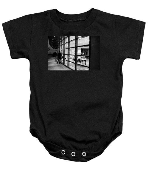 Window Shopping In The Dark Baby Onesie