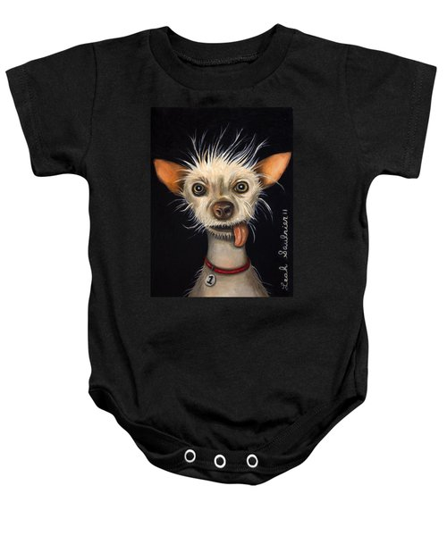 Winner Of The Ugly Dog Contest 2011 Baby Onesie