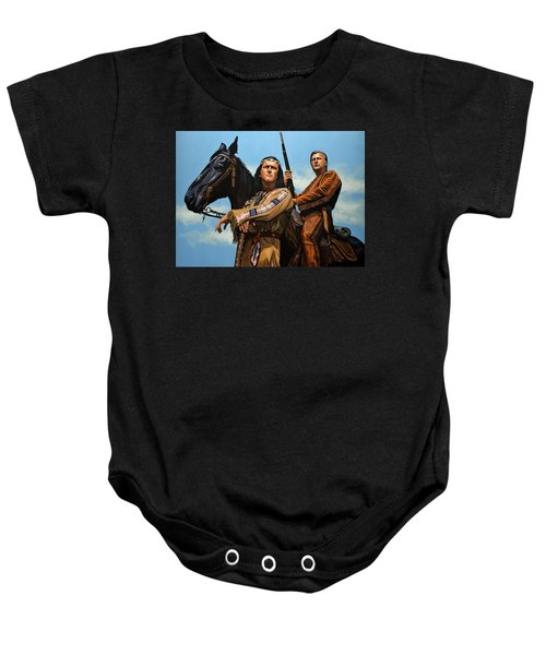 Winnetou And Old Shatterhand Baby Onesie