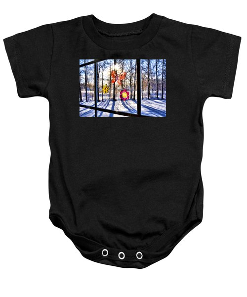Wishing For Spring 1 Baby Onesie