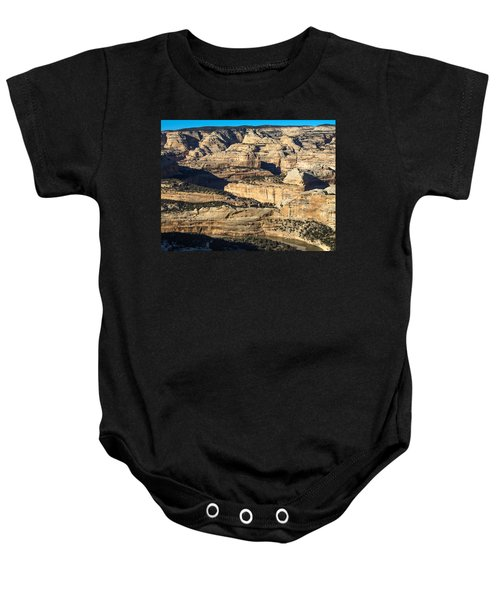 Yampa River Canyon In Dinosaur National Monument Baby Onesie