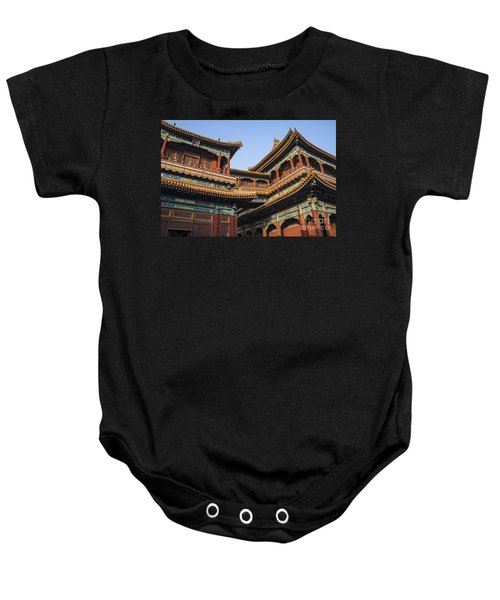 Yonghe Temple Aka Lama Temple In China Baby Onesie