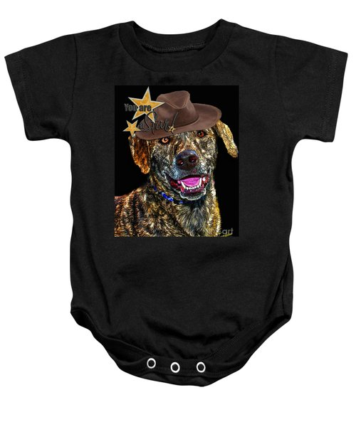You Are A Star Baby Onesie