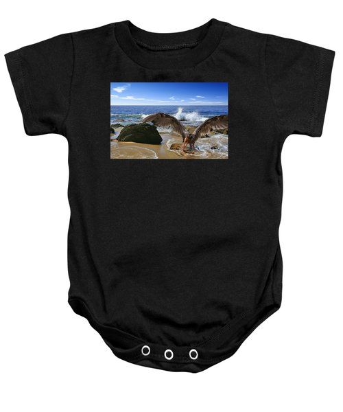 You Cried Out And I Came Baby Onesie