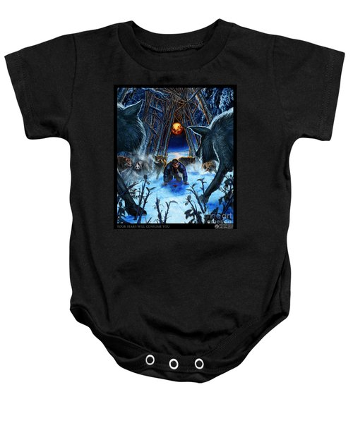Your Fears Will Consume You Baby Onesie