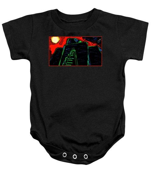 Ziggurat Nites Baby Onesie