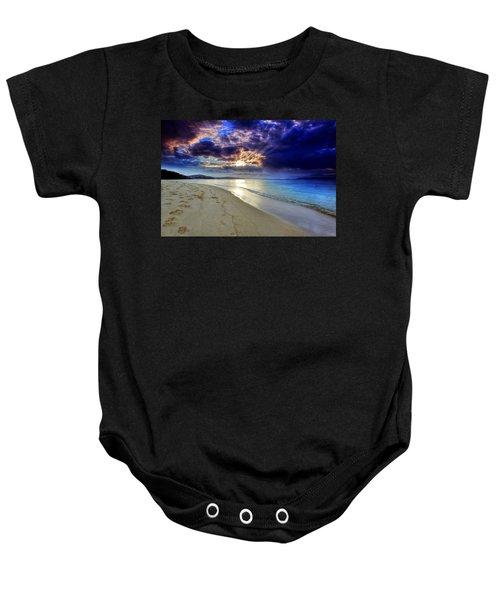 Port Stephens Sunset Baby Onesie