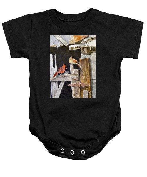 A Visit To Daddy's Barn  Sold Baby Onesie