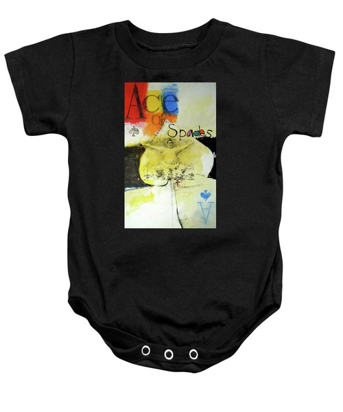 Ace Of Spades 25-52 Baby Onesie