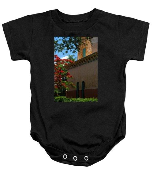 Alhambra Water Tower Windows And Door Baby Onesie