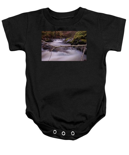 An Icy Flow Baby Onesie