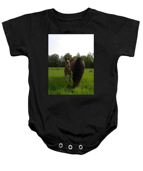 Babe With Mom Baby Onesie