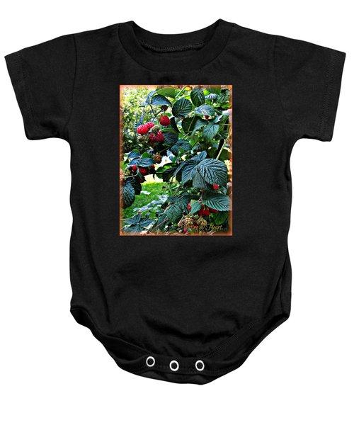 Backyard Berries Baby Onesie