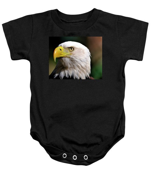 Bald Eagle Close Up Baby Onesie