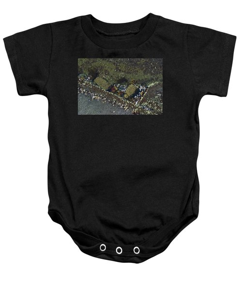 Barnacles And Rocks Baby Onesie