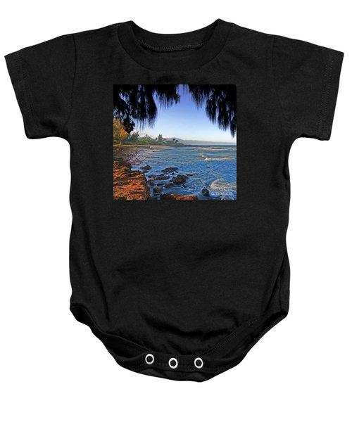 Beach On North Shore Of Oahu Baby Onesie