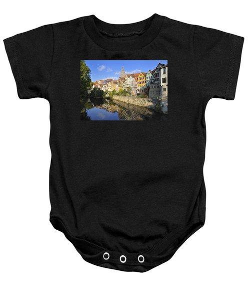 Beautiful German Town Tuebingen - Neckar Waterfront Baby Onesie