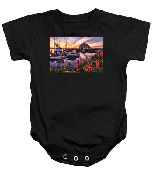 Beautiful Morro Bay Baby Onesie