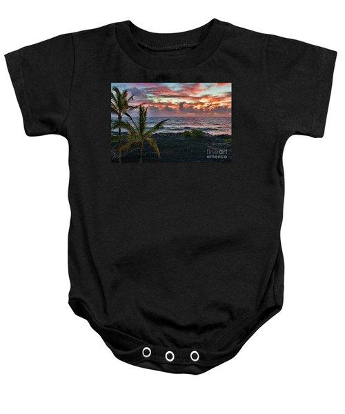 Big Island Sunrise Baby Onesie