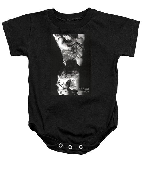Body Projection Woman - Duplex Baby Onesie