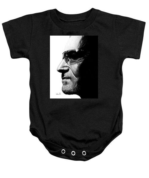 Bono - Half The Man Baby Onesie by Kayleigh Semeniuk