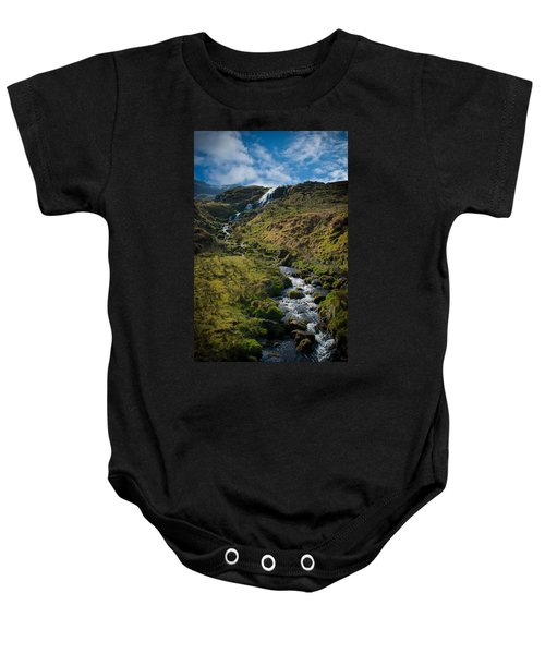 Calmness At The Falls Baby Onesie