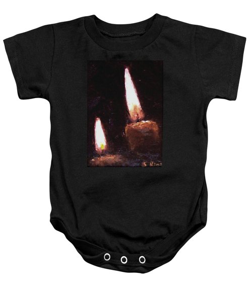 Candle Glow Baby Onesie