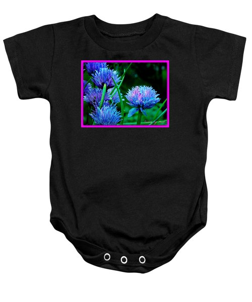 Chives For You Baby Onesie
