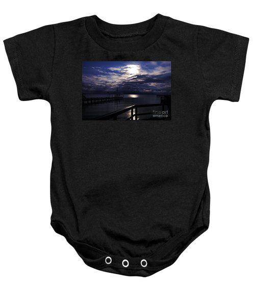 Cold Night On The Water Baby Onesie