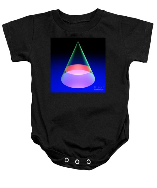 Conic Section Circle 6 Baby Onesie