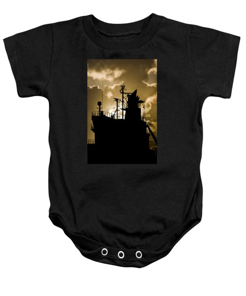 Dark Superstructure Baby Onesie