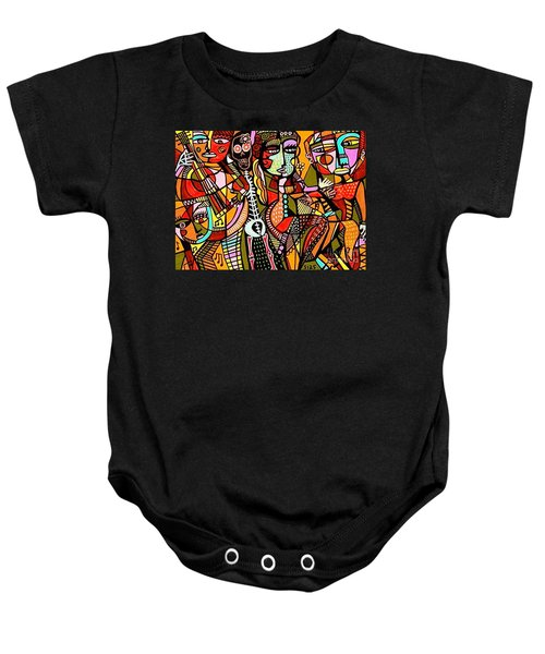 Day Of The Dead Lovers Tango Baby Onesie