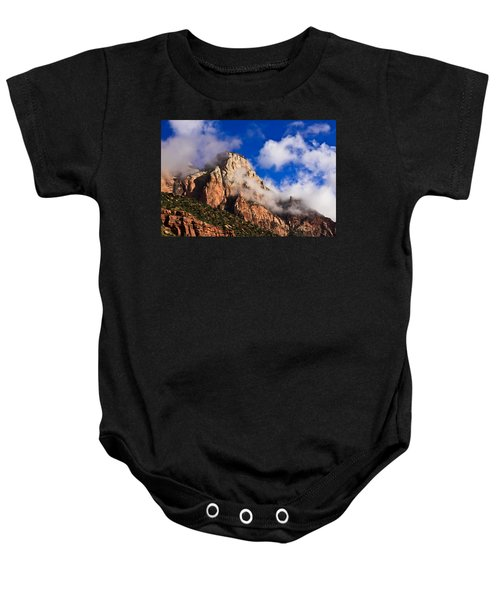 Early Morning Zion National Park Baby Onesie