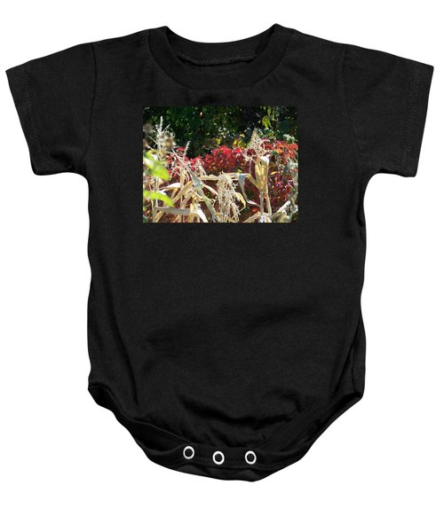Fall Harvest Of Color Baby Onesie