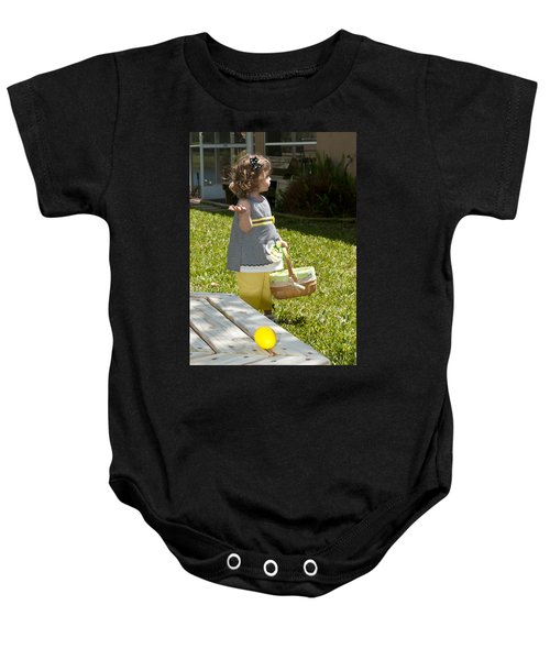 First Easter Egg Hunt Baby Onesie