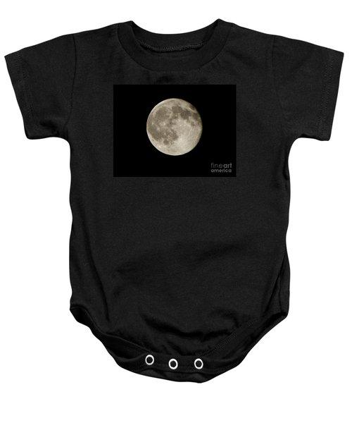 Full Moon  Baby Onesie