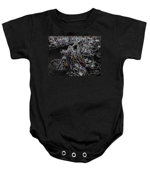 Ghost Rider 2 Baby Onesie