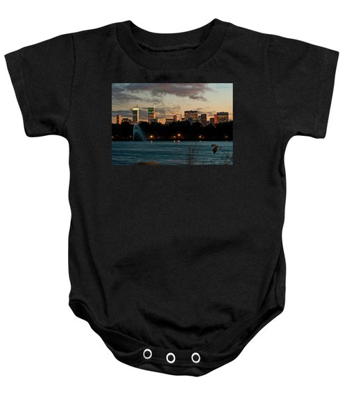 Great Pond Fountain Baby Onesie