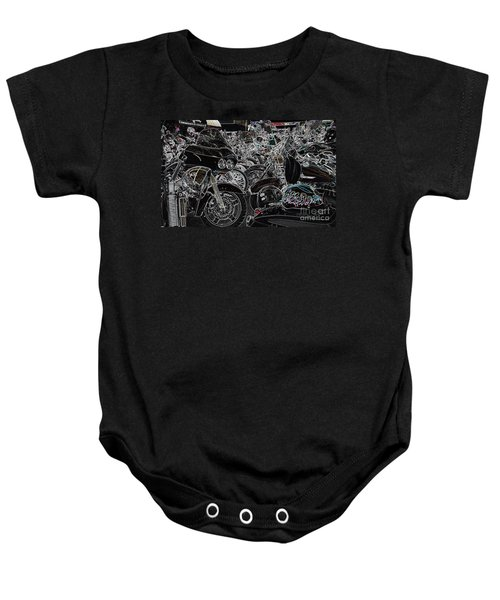 Head Peace Baby Onesie